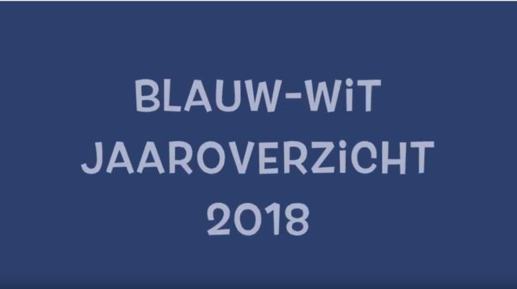 Jaaroverzicht Blauw-Wit Jeugd 2018
