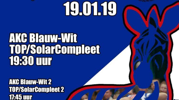 Dinsdagochtendploeg wedstrijdbalsponsor AKC Blauw-Wit – TOP/Solar Compleet